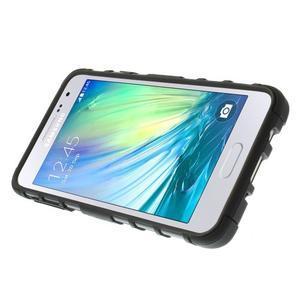 Outdoor odolný kryt na mobil Samsung Galaxy A3 - čierny - 5