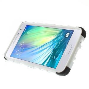 Outdoor odolný kryt na mobil Samsung Galaxy A3 - biely - 5
