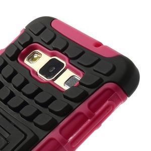 Outdoor odolný kryt pre mobil Samsung Galaxy A3 - rose - 5