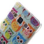 Gélový obal na mobil Samsung Galaxy A3 - sovičky - 5/5