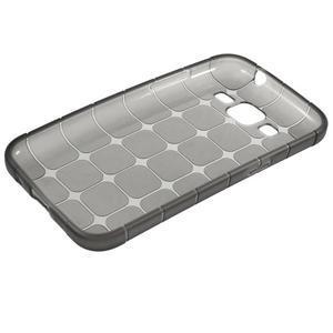 Square matný gélový obal pre Samsung Galaxy Core Prime - šedý - 5