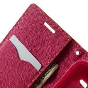 Fancy PU kožené puzdro pre Samsung Galaxy Core Prime - žlté - 5