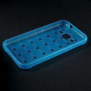 Square matný gelový obal na Samsung Galaxy Core Prime - modrý - 5