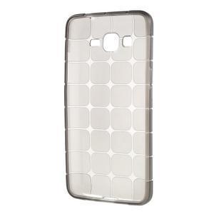 Square gélový obal na Samsung Galaxy Grand Prime šedý - 5