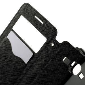 Safety puzdro s okienkom pre Samsung Galaxy Grand Prime - čierne - 5