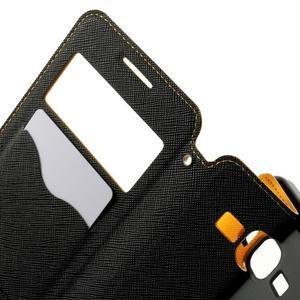 Safety puzdro s okienkom pre Samsung Galaxy Grand Prime - žlté - 5