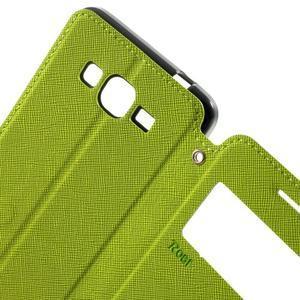 Safety puzdro s okienkom pre Samsung Galaxy Grand Prime - zelené - 5