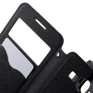 Safety puzdro s okienkom pre Samsung Galaxy Grand Prime - tmavomodré - 5