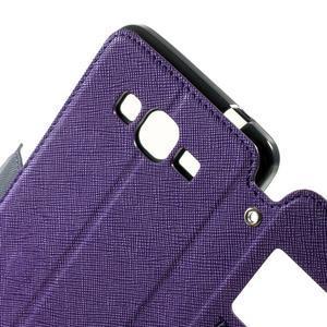 Safety puzdro s okienkom pre Samsung Galaxy Grand Prime - fialové - 5