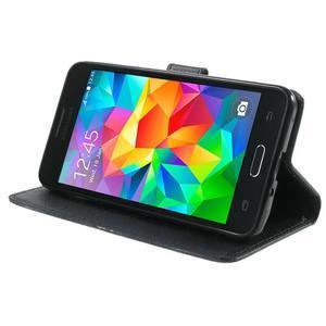 Wallet PU kožené puzdro pre mobil Samsung Galaxy Grand Prime - UK vlajka - 5