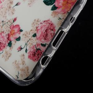 Gélové puzdro na mobil pre Samsung Galaxy J5 - kvetiny - 5