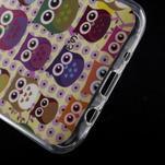 Gélové puzdro na mobil pre Samsung Galaxy J5 - sovičky - 5/5