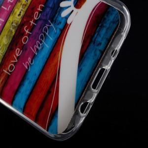 Gélové puzdro na mobil pre Samsung Galaxy J5 - farby dreva - 5
