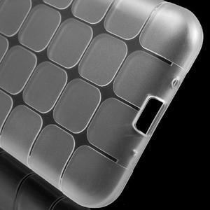 Square matný gélový obal pre Samsung Galaxy J5 - transparentný - 5