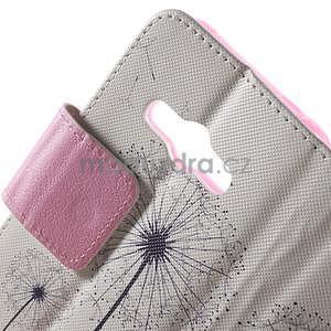 Vzorové peňaženkové puzdro na Samsung Galaxy Xcover 3 - odkvitnutá púpava - 5
