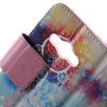 Vzorové peňaženkové puzdro na Samsung Galaxy Xcover 3 - snívanie - 5/7
