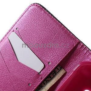 Vzorové peňaženkové puzdro na Samsung Galaxy Xcover 3 - srdce - 5