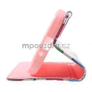 Štýlové peňaženkové puzdro pre Samsung Galaxy Xcover 3 - sovičky - 5