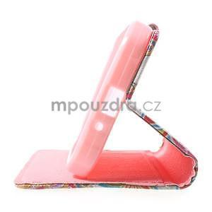 Štýlové peňaženkové puzdro pre Samsung Galaxy Xcover 3 - mandala - 5