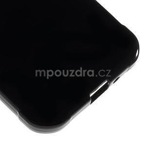 Leklý gélový kryt na Samsung Galaxy Xcover 3 - čierný - 5