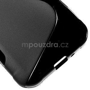S-line gélový obal pre Samsung Galaxy Xcover 3 - čierny - 5