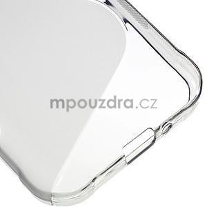 S-line gélový obal pre Samsung Galaxy Xcover 3 - šedý - 5