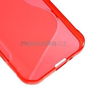 S-line gélový obal na Samsung Galaxy Xcover 3 - červený - 5