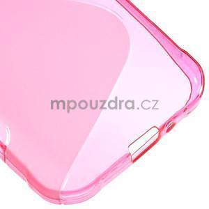 S-line gélový obal na Samsung Galaxy Xcover 3 - ružový - 5