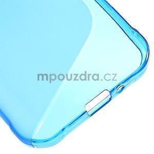 S-line gélový obal na Samsung Galaxy Xcover 3 - modrý - 5