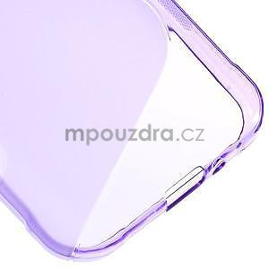 S-line gélový obal na Samsung Galaxy Xcover 3 - fialový - 5