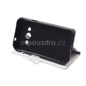 Biele koženkové puzdro Samsung Galaxy Xcover 3 - 5