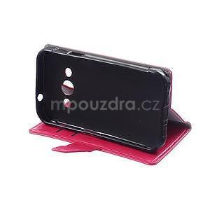 Rose koženkové puzdro Samsung Galaxy Xcover 3 - 5