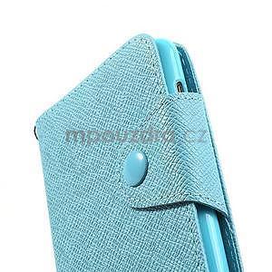 Peňaženkové puzdro s pútkom na Nokia Lumia 625 - svetlomodré - 5