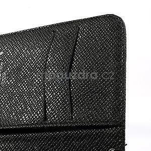 Peňaženkové puzdro s pútkom na Nokia Lumia 625 - čierne - 5