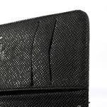 Peňaženkové puzdro s pútkom na Nokia Lumia 625 - čierne - 5/6