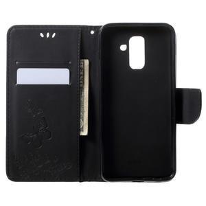 Flow flipové puzdro na Samsung Galaxy A6 Plus - čierne - 5