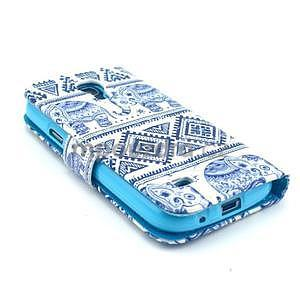 Peněženkové pouzdro na Samsung Galaxy S4 mini - sloni - 5
