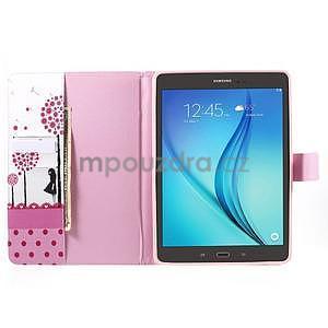 Ochranné puzdro pre Samsung Galaxy Tab A 9.7 - dievča a púpavy - 5