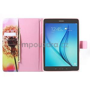 Ochranné puzdro pre Samsung Galaxy Tab A 9.7 - oranžová púpava - 5