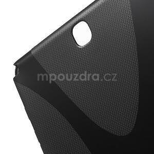 X-line gélový obal pre tablet Samsung Galaxy Tab A 9.7 - čierný - 5