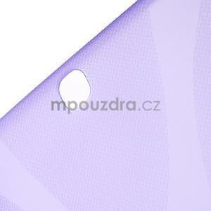 X-line gélový obal pre tablet Samsung Galaxy Tab A 9.7 - fialový - 5