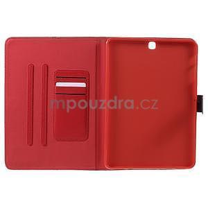 Flatense štýlové puzdro pre Samsung Galaxy Tab S2 9.7 - červené - 5