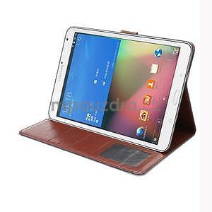 Jeans puzdro na tablet Samsung Galaxy Tab S2 9.7 - čiernomodré - 5