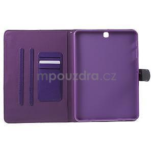 Flatense štýlové puzdro pre Samsung Galaxy Tab S2 9.7 - fialové - 5