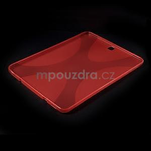 X-line gélový kryt na Samsung Galaxy Tab S2 9.7 - červený - 5