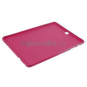 Glossy gélový obal pre Samsung Galaxy Tab S2 9.7 - rose - 5