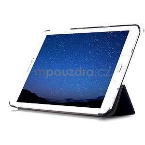 Trifold polohovateľné púzdro pre Samsung Galaxy Tab S2 9.7 - čierne - 5