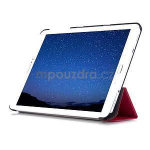 Trifold polohovateľné púzdro pre Samsung Galaxy Tab S2 9.7 - rose - 5