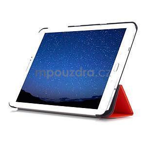 Trifold polohovateľné púzdro pre Samsung Galaxy Tab S2 9.7 -  oranžové - 5
