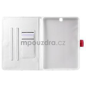 Flatense štýlové puzdro pre Samsung Galaxy Tab S2 9.7 - biele - 5